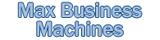 Max Business Machines logo btn