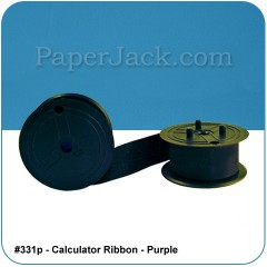 <b>#331p</b><br />Calculator Ribbons<br>Purple<br>Case of 12 Ribbons