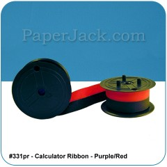 Calculator Ribbons 331PR - Purple/Red, #331pr - Case of 12 Ribbons