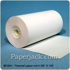 Thermal Paper Rolls, #61041 - Case of 50 rolls