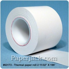 Thermal Paper Rolls, #63173 - Case of 50