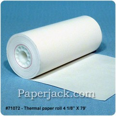Thermal Paper Rolls, #71072 - Case of 48 rolls